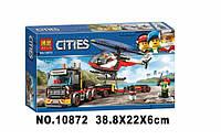 Конструктор Bela 10872 City Сити Перевозка тяжелых грузов, аналог Lego City 60183, 322 детали
