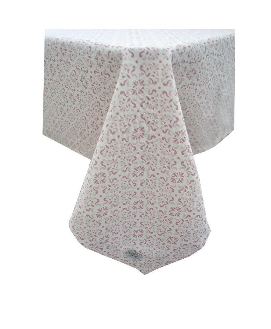Скатерть на стол Bella Розовый Витраж 85*85 см