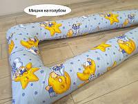 U образная подушка для беременных, факт.длина-170см, разные цвета