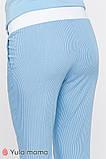 Брюки для беременных MELANI TR-20.013 полоска бело-голубая, фото 5