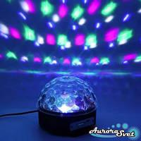 Светодиодный шар Disco Ball .Светомузыкальный шар с поддержкой MP3, MP4.