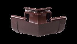 Кут внутрішній 135 град. жолоба Profil Д=130мм, колір коричневий