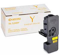 Тонер-картридж Kyocera Mita (1T02R7ANL0) M5526cdn/M5526cdw/P5026cdn/P5026cdw Yellow (TK-5240Y)