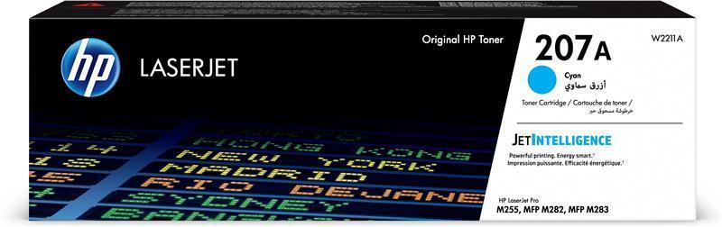 Картридж HP 207A CLJ M282/M283, M255dw/M255nw Cyan (W2211A)
