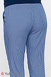 Брюки для беременных MELANI TR-20.012 полоска сине-белая, фото 5