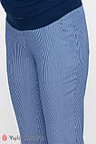 Брюки для беременных MELANI TR-20.012 полоска сине-белая, фото 4