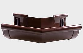 Кут зовнішній 135 град. жолоба Profil Д=130мм, колір коричневий