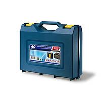 Кейс-чемодан-ящик пластиковый, универсальный Tayg Box 40(Испания) 38,5*33*13см, для инструментов (140006)
