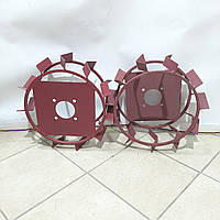 Колеса с грунтозацепами 380/160(10*10) культиватор Булат, фото 1