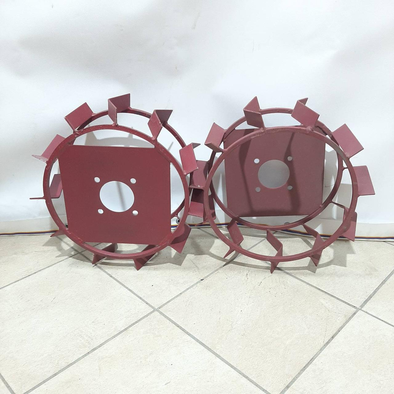 Колеса с грунтозацепами 380/160(10*10) культиватор Булат