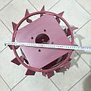 Колеса с грунтозацепами 380/160(10*10) культиватор Булат, фото 7