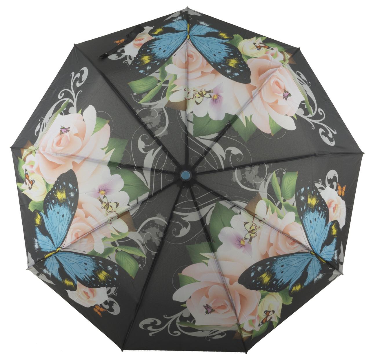 Женский красивый прочный зонтик полуавтомат  SUSINO art. 3372