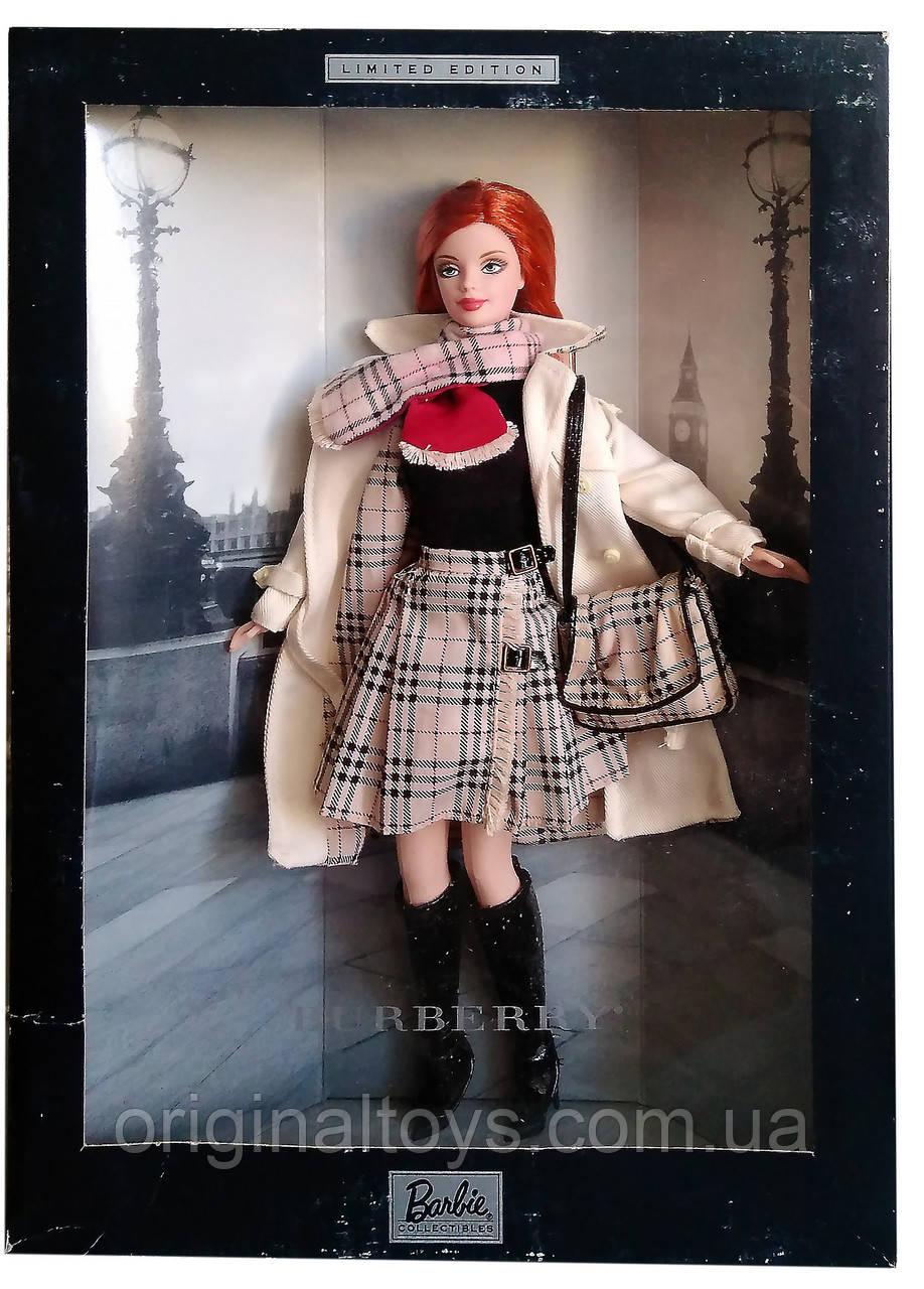 Коллекционная кукла Барби Бёрберри Barbie Burberry 2000 Mattel 29421