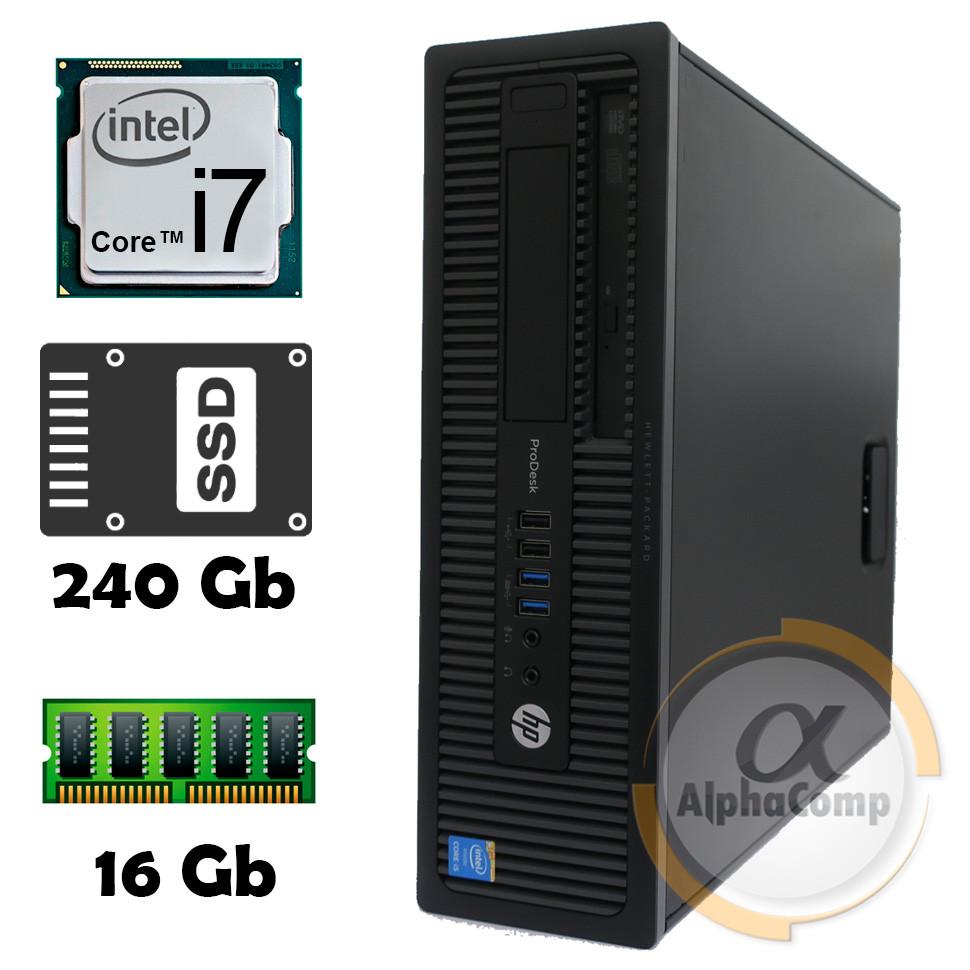 Компьютер HP 600 G1 (i7-4770S/16Gb/ssd 240Gb) БУ