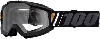 Кроссовые мотоочки 100% ACCURI Goggle Off - Clear Lens *