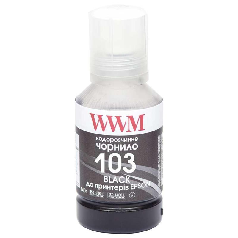 Чернила WWM Epson L3100/3110/3150 (Black) (E103B) 140г