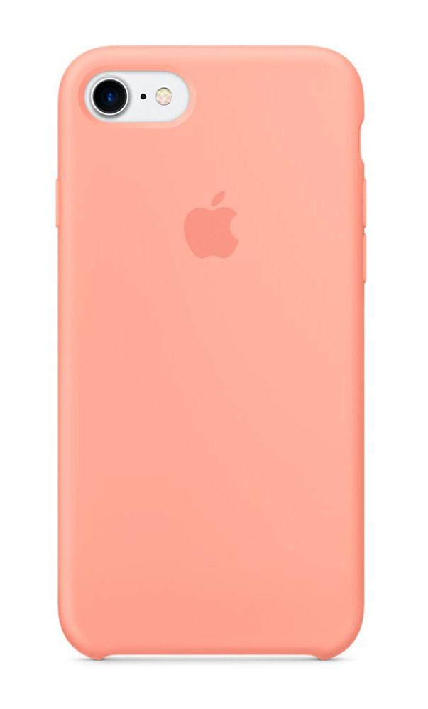 Задняя накладка Hi-Copy Silicone Case APPLE IPHONE 7   8 (№27 FLAMINGO)