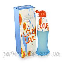 Женская туалетная вода москино ай лав лав Moschino I Love Love (лиц) аромат парфюм духи запах