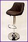 """Барный стул HOKER  SOLO  с Подставкой для ног(120 кг нагрузка)""""""""ПОЛЬША, фото 4"""