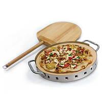 Набор для пиццы Broil King (камень, лопата, форма с ручками) 69816, фото 1