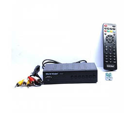 T2 приставка тюнер-ресивер DVB-T2 World Vision T62A цифровой эфирный приемник SKL31-239424