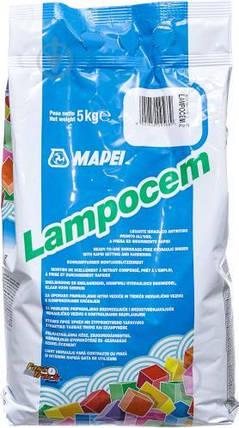 Готова швидкотвердіюча ремонтна суміш MAPEI LAMPOCEM / 5 кг /, фото 2