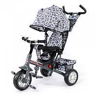 Велосипед трехколесный Tilly Zoo-Trike 6 цветов (BT-CT-0005) Серый