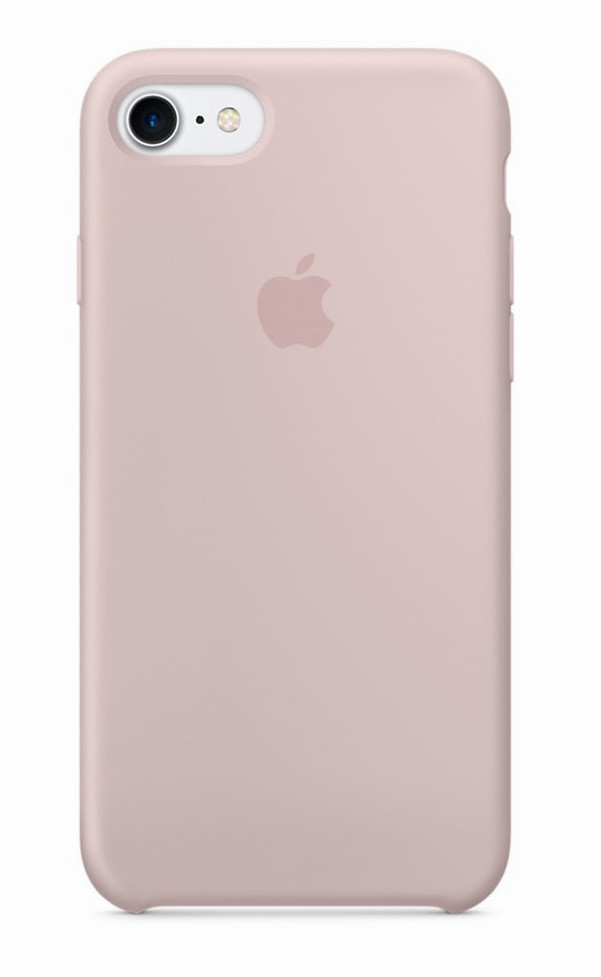Задняя накладка Hi-Copy Silicone Case APPLE IPHONE 7 | 8 (№19 PINK SAND)