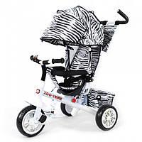 Велосипед трехколесный Tilly Zoo-Trike 6 цветов (BT-CT-0005) Белый