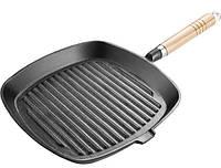Сковорода-гриль из чугуна (24см) Lamart LT1063