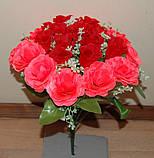 "М-545 Букет роз ""Вивальди"" 24 головы  40х8 см, фото 6"