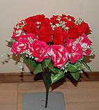 "М-545 Букет роз ""Вивальди"" 24 головы  40х8 см, фото 7"