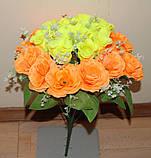 "М-545 Букет роз ""Вивальди"" 24 головы  40х8 см, фото 10"