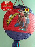 Пиньята на детский праздник Спайдермен 1 + бита, фото 1