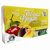 Только фрукты Пастила Яблоко-Банан 50г