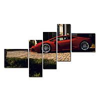 "Модульная картина на холсте ""Ламборгини"" 1500х700мм, фото 1"