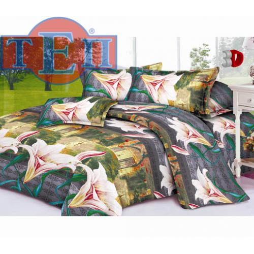 Качественное постельное белье ТЕП  RestLine 108  «Елизавета» 3D дешево от производителя.