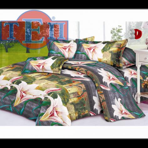 Качественное постельное белье ТЕП  RestLine 108  «Елизавета» 3D дешево от производителя., фото 2