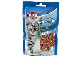 Лакомство для кошек и котят trixie Trainer Snack Mini Nuggets 50г