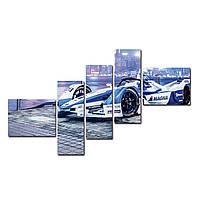 """Модульная картина на холсте """"Формула"""" 1500х700мм, фото 1"""