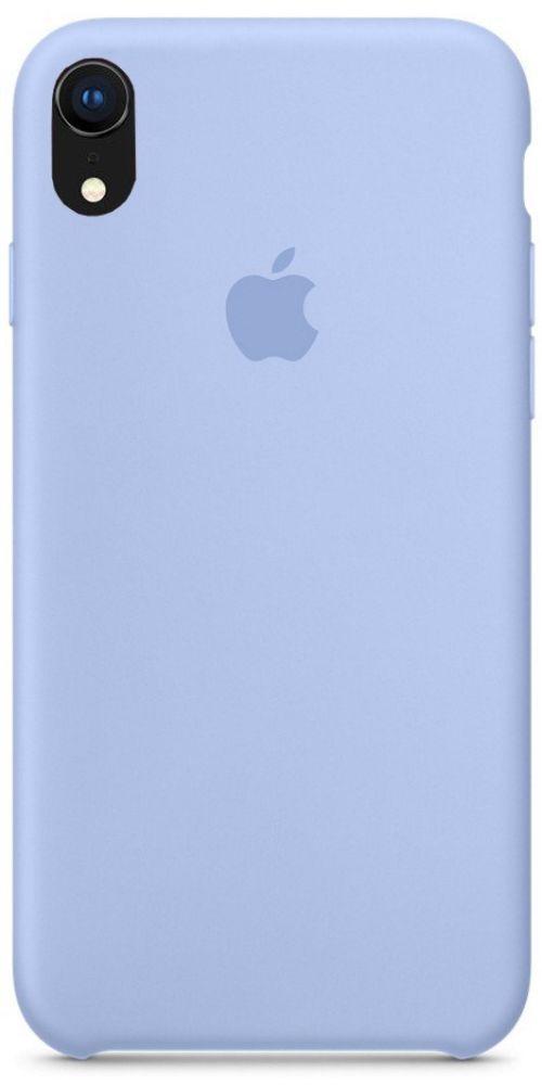 Задняя накладка Hi-Copy Silicone Case APPLE IPHONE XR (№5 LILAC CREAM)