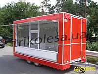 Прицеп торговый во Львове