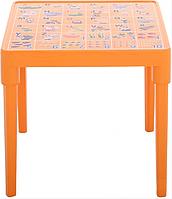 Стол детский Азбука английская Оранжевый, КОД: 1128917
