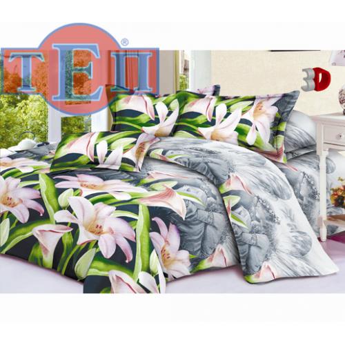 Качественное постельное белье ТЕП  RestLine 110  «Августина» 3D дешево от производителя.