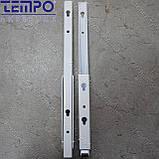 Консоль откидная Tempo 300 мм. белая, для раскладного стола., фото 6