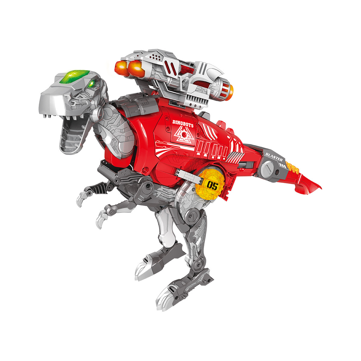 Dinobots Динобот-Трансформер - Тираннозавр Dinobots Robot Blaster Tyrannosaurus Rex SB379