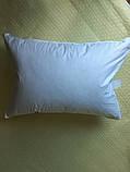 Пуховая, натуральная, мягкая,  невысокая  подушка 50×70, фото 5