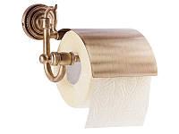 Держатель для туалетной бумаги KUGU Versace Antique 211A Бронза 3347, КОД: 1401155
