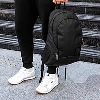 Водоустойчивый мужской городской рюкзак на 20 л спортивный  BAGLND 1X черный