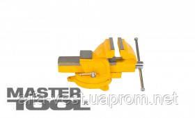 Купить MasterTool Тиски слесарные поворотные 125 мм, Арт.: 07-0212